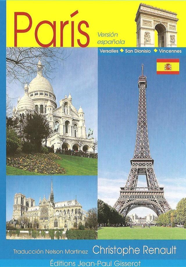 Paris - 64 Pages (VERSION ESPAGNOLE) - Christophe Renault - GISSEROT