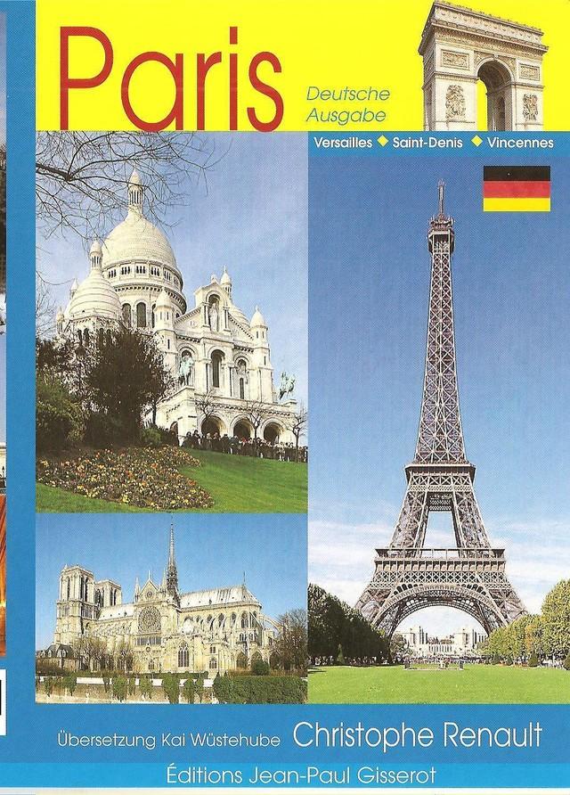 Paris - 64 pages (VERSION ALLEMANDE) - Christophe Renault - GISSEROT